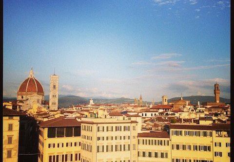 Panoramam Minerva Hotel Firenze