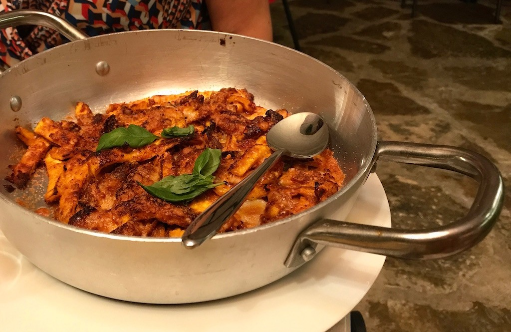 trippa di uovo LOV Osteria Vegetariana Firenze