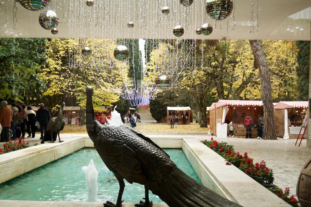 Paese di Babbo Natale a Chianciano Terme Parco Acqua Santa