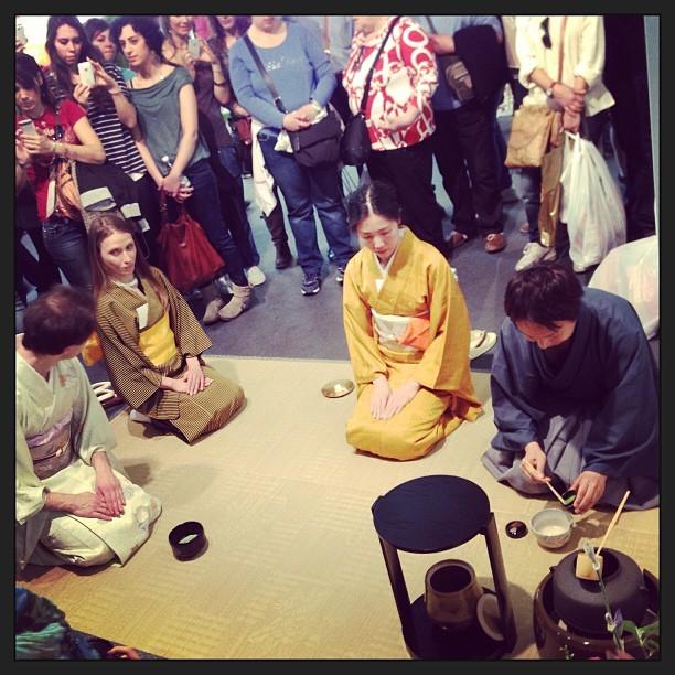 cerimonia del te giapponese