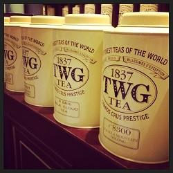TWG tea IWC mall Hong Kong