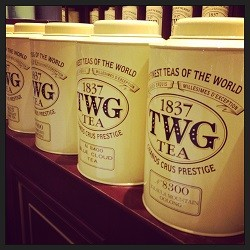 TWG tea IWC mall Hong Kong