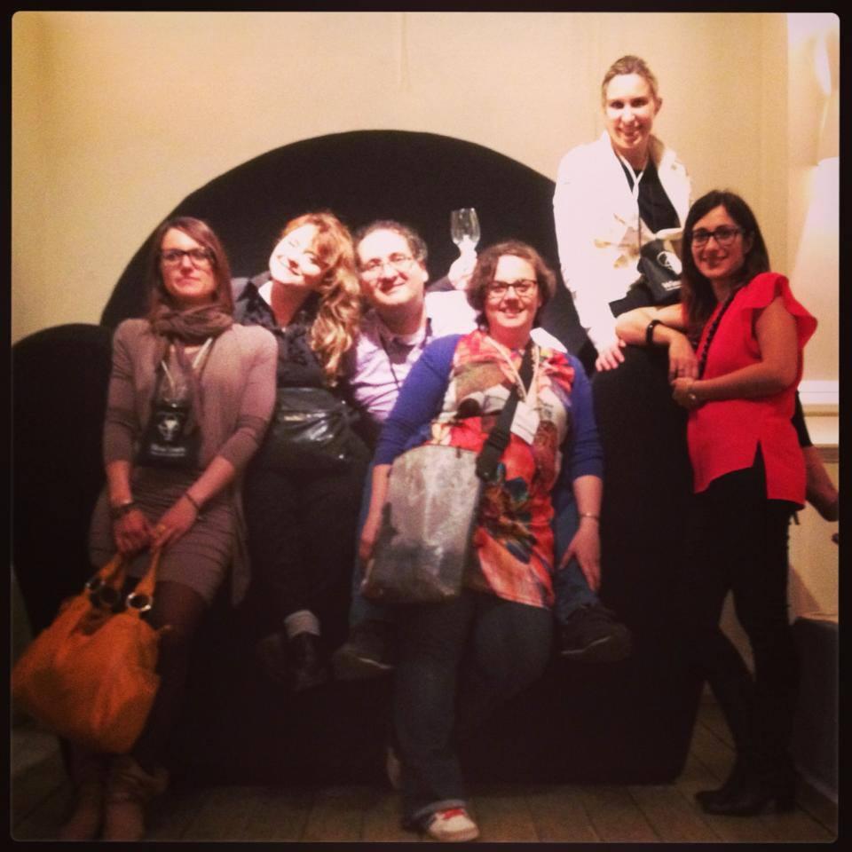social media team wine town