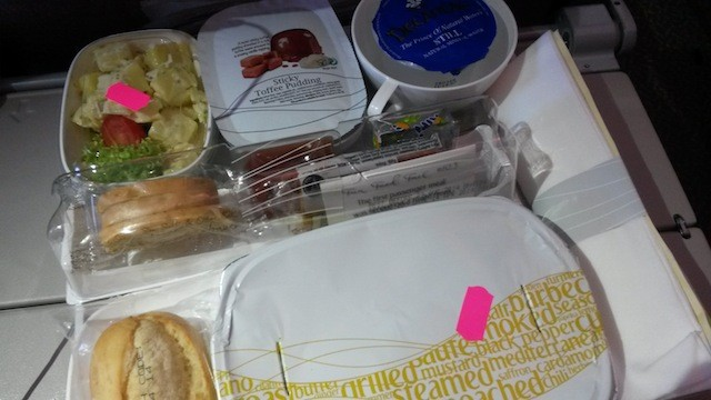 food tray Emirates