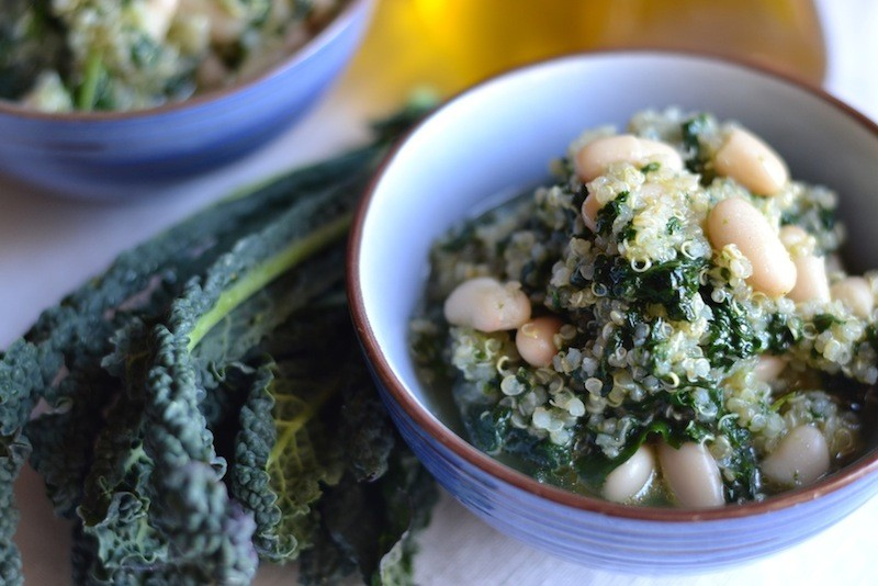 Quinoa e cavolo Nero