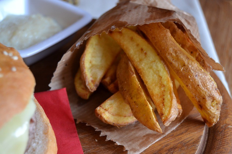 Chips di patate novelle