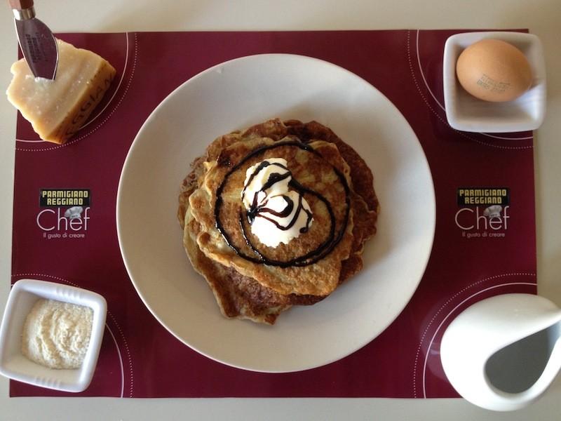 Pancake parmigiano #PRChef2015