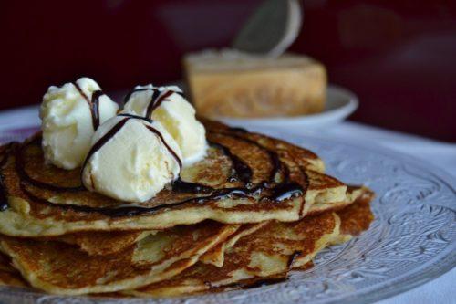 Pancakes Parmigiano Buontalenti e Balsamico