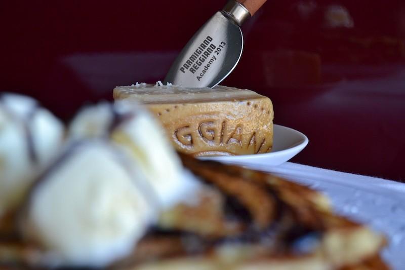 Parmigiano Reggiano Pancakes
