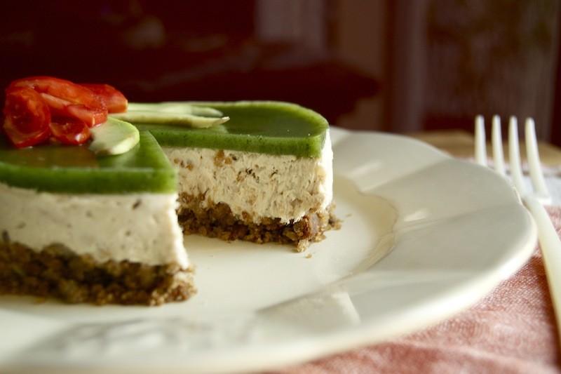 Cheesecake al tonno ed avocado