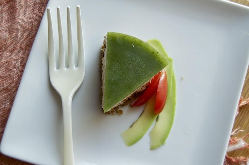 Cheesecake tonno e avogado