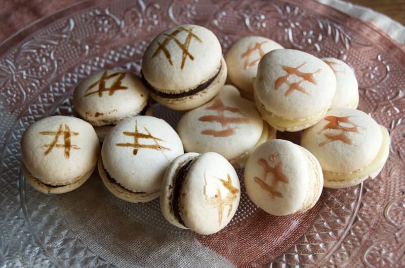 Macarons aceto balsamico