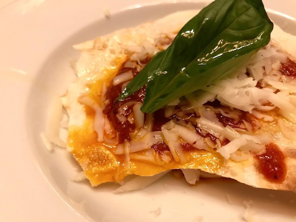 lasagne vegetariane di pane carasau